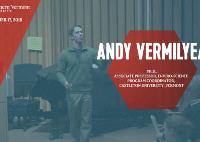 Current Topics in Science Series, Andy Vermilyea, Ph.D.