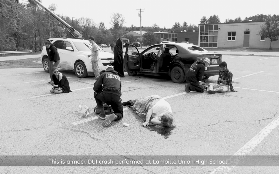 Lamoille Union High School, Mock Drunk Driving PSA