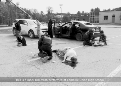 Lamoille Union High School, Mock Drunk Driving PSA