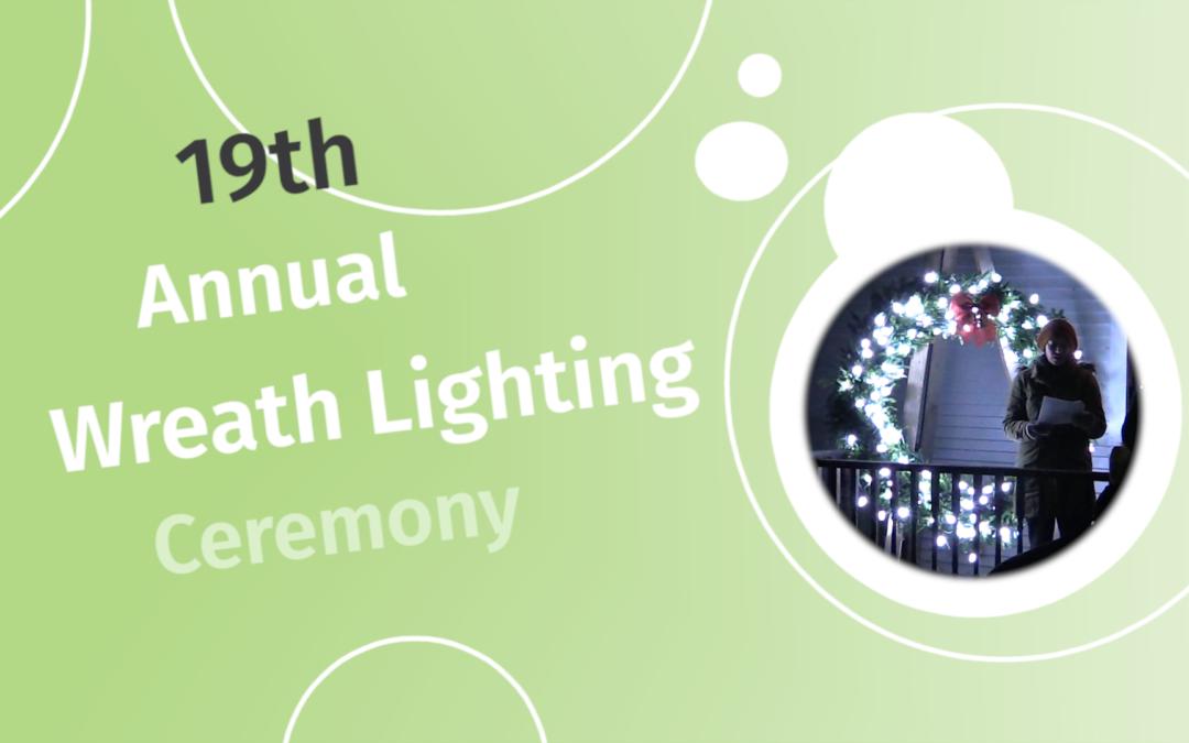 Hyde Park Community Circle, 2019 – Lighting Ceremony