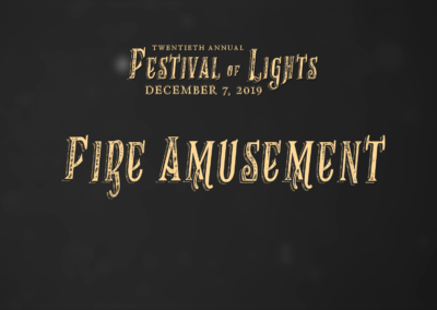 Festival of Lights, 2019 – Fire Amusement