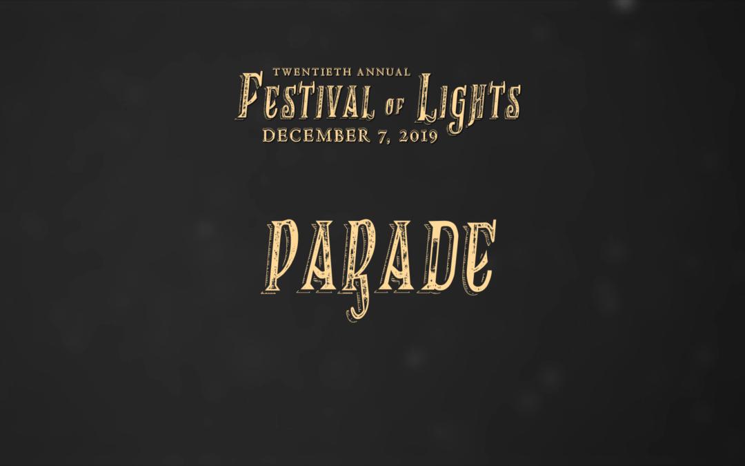Festival of Lights, 2019 – Parade