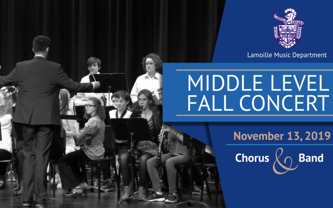 Lamoille Middle School Fall Concert, 2019