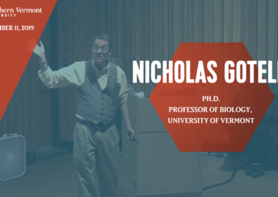 Current Topics in Science Series – Nicholas Gotelli, Ph.D.