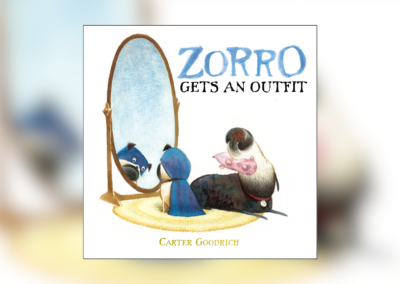 "Grannie Snow reads ""Zorro Gets an Outfit"""
